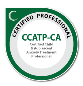 CCATP Ca Badge - Certified Child & Adolescent Anxiety Treatment Professional