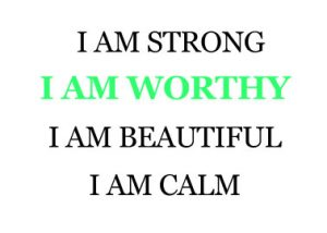 Breathing Through Counseling I am worthy workshop
