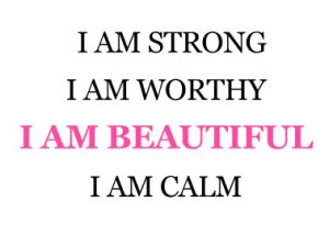 Breathing Through Counseling I am beautiful workshop